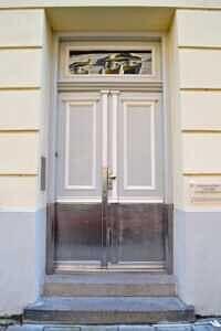 Hauseingang - Traumdachgeschosswohnung in Haidhausen