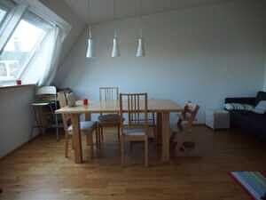 Esszimmer - Traumdachgeschosswohnung in Haidhausen Comeniusstr.