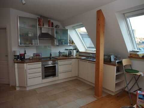 Küche - Traumdachgeschosswohnung in Haidhausen Comeniusstr.