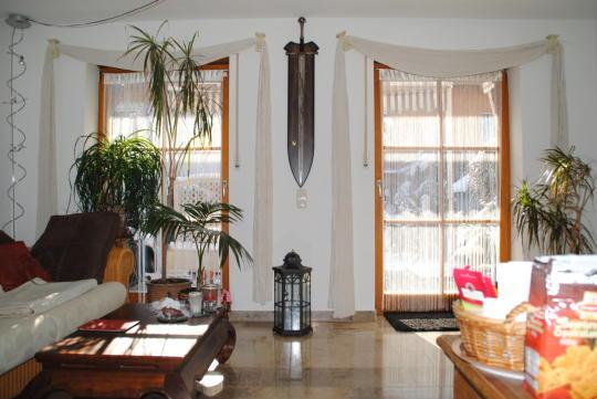 Wohnzimmer Mit Essecke   Sonniges Reihenhaus Mit Liebevoll Angelegtem  Garten, Markt Schwaben