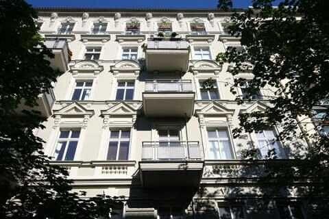 Aussenansicht - Zweizimmerwohnung Berlin, Helmholtzplatz sowie Kollwitzplatz direkt nebenan