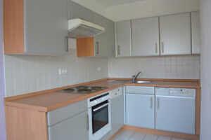 Einbauküche - 1-Zi-Wohnung mit sonnigem Westbalkon