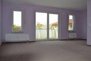 Großes Zimmer - 1-Zimmer-Wohnung mit sonnigem Westbalkon
