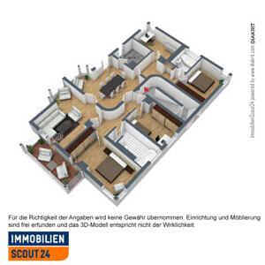 Vorschlag Grundriss - Sonnige Gartenwohnung in Bestlage von Solln