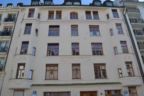 Ansicht Fassade - Altbauwohnung in der Maistraße - Toplage in der Münchner City