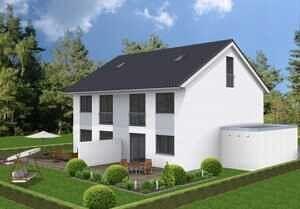 DH Garten - Moderne Doppelhaushälfte mit schönem Südgarten in zentraler Lage von Baldham