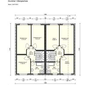 Grundriss OG - Moderne Doppelhaushälfte mit schönem Südgarten in zentraler Lage von Baldham