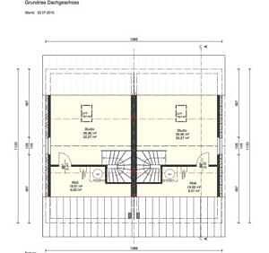 Grundriss DG - Moderne Doppelhaushälfte mit schönem Südgarten in zentraler Lage von Baldham