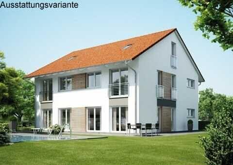 DHBB1 – Moderne Doppelhaushälfte mit schönem Südgarten in zentraler Lage von Baldham