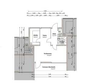Erdgeschoss Reihenmittelhaus Bestlage Baldham