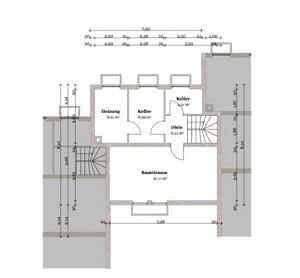 Kellergeschoss Reihenmittelhaus Bestlage Baldham
