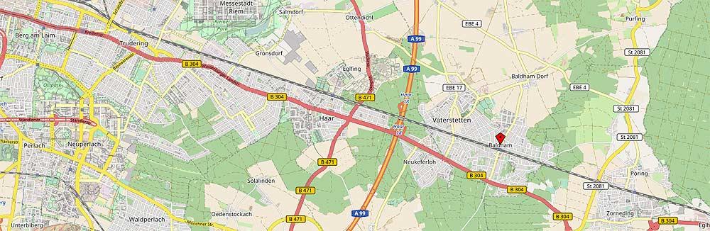 Baldham (Openstreetmap.de)