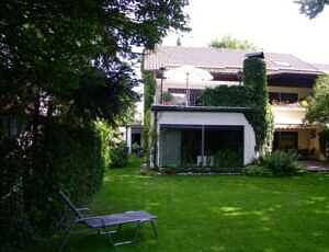 Einfamilienhaus Vaterstetten Hausansicht Südseite