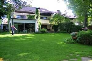 Einfamilienhaus Vaterstetten Hausansicht Südseite, Ansicht 2