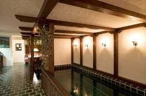 Einfamilienhaus Vaterstetten Schwimmbecken