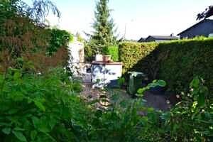 Doppelhaushälfte Vaterstetten Garteneingang
