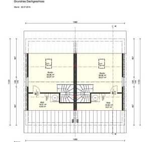 Doppelhaushälfte DDH Vaterstetten Grundrissvorschlag DG