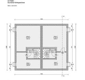 Doppelhaushälfte DDH Vaterstetten Grundrissvorschlag KG