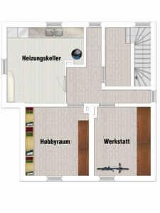 EFH Neufarn-Vaterstetten Grundriss KG