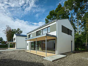 Exklusives Architektenhaus - Terrasse