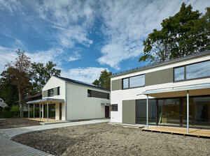 Exklusives Architektenhaus Kiefernweg - Hausansicht