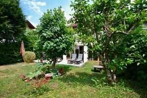 Modernisierte Doppelhaushälfte Grasbrunn - Garten, Ansicht 2