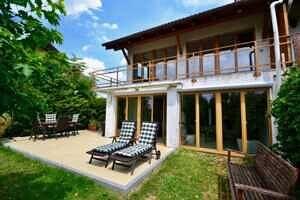 Modernisierte Doppelhaushälfte Grasbrunn - Terrasse