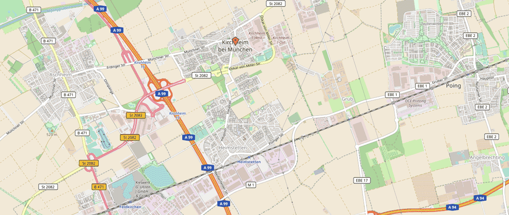 Kirchheim b. München und Heimstetten