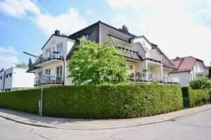 Hausansicht, DG-Maisonette Wohnung Bestlage Waldtrudering
