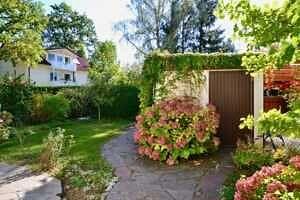 Doppelhaushälfte Vaterstetten - Ausblick in den Südgarten