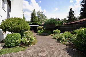 DHH Baldham: Gartenansicht