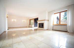 DHH Baldham: Wohnzimmer, Ansicht 2