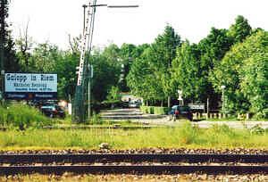 Eingang Galopprennbahn RIem
