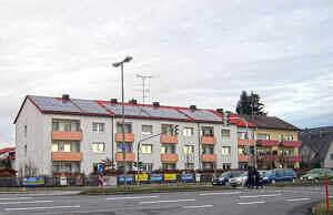 Haar: Wohnblock an der Wasserburger Straße