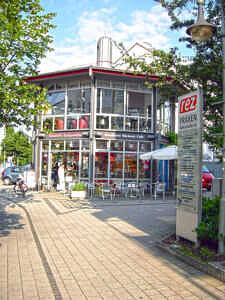Pavillon im Rätezentrum Heimstetten