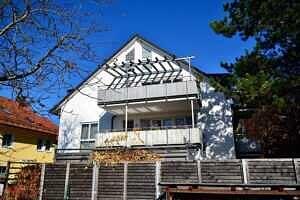 DG-Maisonette-Wohnung Gronsdorf: Hausansicht 3
