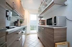DG-Maisonette-Wohnung Gronsdorf: Küche, Ansicht 2