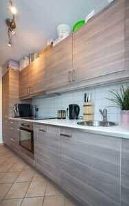 DG-Maisonette-Wohnung Gronsdorf: Küche, Ansicht 3