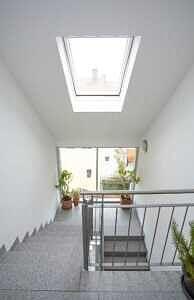 DG-Maisonette-Wohnung Gronsdorf: Treppenhaus, Ansicht 2
