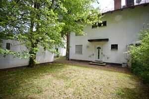 Hauseingangsseite - DHH Zugspitzstraße Baldham