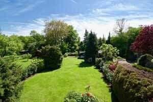 Südgarten, Ansicht 2 - Großzügige Doppelhaushälfte Mit Einliegerwohnung in Vaterstetten