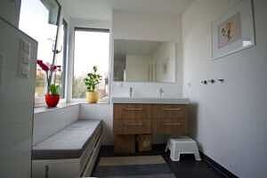 Badezimmer, Ansicht 3 - DHH Zorneding zentral