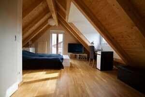 Schlafzimmer mit Gaube - DHH Zorneding zentral