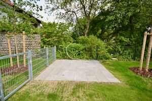 Fläche für Gartenhaus - Erstbezug - Exklusive Erdgeschosswohnung mit 210 qm XXL Garten