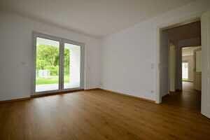 Schlafzimmer - 15 qm - Erstbezug - Exklusive Erdgeschosswohnung mit 210 qm XXL Garten