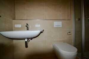 Gäste-WC - 4,0 qm - Erstbezug - Exklusive Erdgeschosswohnung mit 210 qm XXL Garten