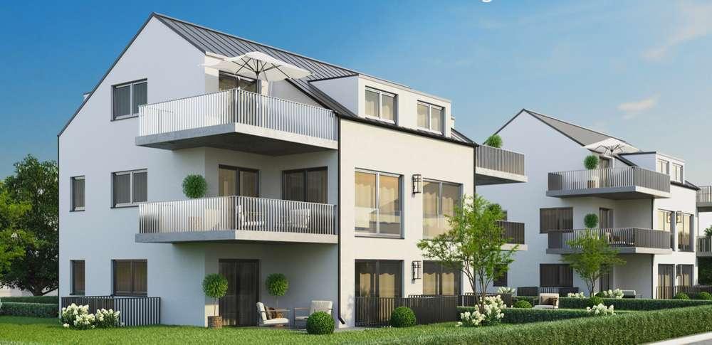 Hausansicht - Traumhafte Dachterrassenwohnung im kleinen Mehrfamilienhaus in ruhiger zentraler Lage zu verkaufen