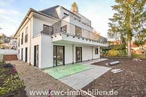 Hausansicht - Erstbezug - Exklusive 3-Zi. Architektenwohnung